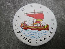 Jorvik Viking Centre Pin Badge Button (L30S)