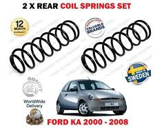 Pour Ford Ka 1.0 1.3 1.6 2000-2008 Neuf 2 X Arrière Gauche + Droit Ressort Jeu