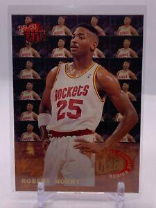 ROBERT HORRY - 1992-93 FLEER ULTRA BASKETBALL - ALL ROOKIE SERIES INSERT - #3