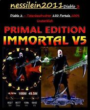 Diablo3 RoS Ps4 - Totenbeschwörer/Necromancer - 150 Portale 100% Perfekt  MODDED