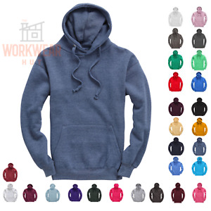 Plain Hoodies,Soft Fabric with Pouch Pockets with a concealed iPod Pocket