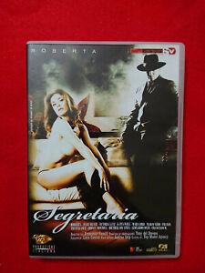 DVD SEGRETARIA FRANCESCO FANELLI ROBERTA GEMMA MARY LORD MARIO NERO Soft Version