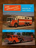 Fire Apparatus Journal Volume 7, Number 2, March-April 1990