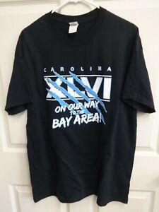 NWOT NFL Carolina Panthers Superbowl XLVI T-Shirt Men Large