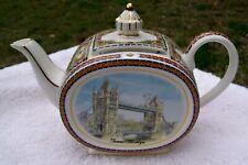 sadler english teapot tower bridge staffordshire