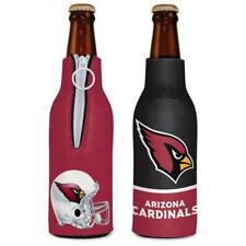 Arizona Cardinals 12oz Two Sided Bottle Cooler [New] Nfl Can Holder Foam Koozie