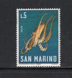San Marino 1966 OCTOPUS SC 647X NH