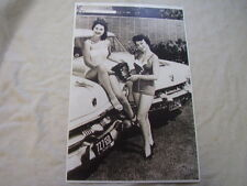 1953 FORD & MERCURY MCCULLOCH SUPERCHARGER  & MODELS  11 X 17  PHOTO  PICTURE