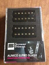 Seymour Duncan Signature Slash Alnico II Pro Humbucker Pickup Set Black APH-2s