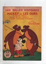 Les Belles Histoires de Walt Disney n°9. Mickey et les Ours. Colbert 1954