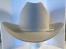 John B. Stetson Company 4X Beaver XXXX Cowboy Hat Size 7 3/8 59 Made In USA