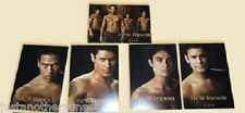 Twilight New Moon SDCC Promotional Trading Card Set Quileute Wolf Pack Rare NEW