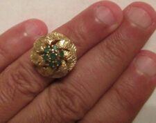 Vintage 14K Gold Ring   19 MM Wide  7.50 Grams Size 5.5