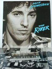 """Columbia Records 1980 Bruce Springsteen The River 12"""" Vinyl Double LP w/Insert"""