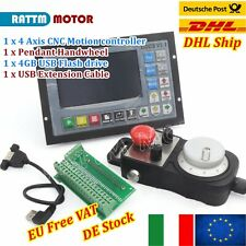「IT」CNC 4 Axis DDCS V3.1 Motor Motion Controller Offline Stand Alone + Handwheel