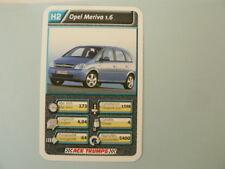 69-AUTOSALON CARS H2 OPEL MERIVA 1.6 QUARTETT CARD