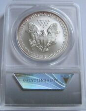 2008-W Rev of '07 ANACS SP70 BURNISHED AMERICAN SILVER EAGLE~First Day of Issue~