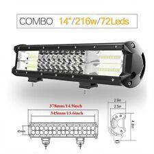Rampe Lumineuse Barre 3 Lignes LED Pour Voiture Camion Auto Eclairage Puissant