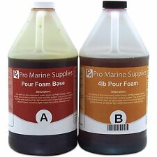 Pour Foam 4 LB Density - Liquid Urethane Insulation Marine Grade - 1 Gallon Kit