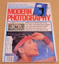 Modern Photography Magazine May 1982 Selling Your Camera Use Flash Natural Look