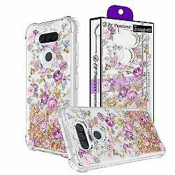 New Clear Design Ultra Slim Glitter Protection Slim Case for LG Aristo 5