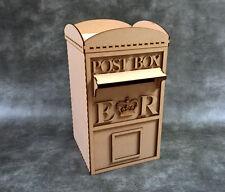 Wedding Post Box Craft Kit - Laser Cut mdf Craft Shapes / Guest book