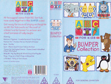 ABC BUMPER COLLECTION  ~VHS PAL  VIDEO A RARE FIND