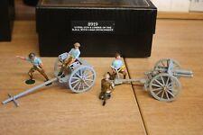 William Britain, Premier series, 13 PDR; Gun & Limber of RHA with 4 men, 8919