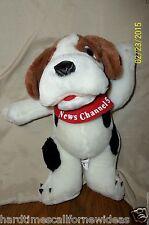 """NEWS CHANNEL 5 NEWS HOUND DOG PLUSH MASCOT 10"""""""