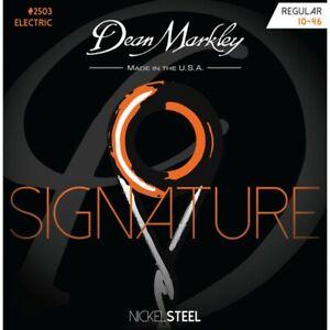 Dean Markley Regular 10-46 NickelSteel Electric Guitar String Set