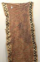 Kuba Cloth African Natural Woven Raffia Fabric Congo Decorative Mens Skirt