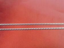 Collar de joyería de metales preciosos sin piedras de oro blanco oro