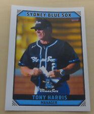 Tony Harris 2018/19 Australian Baseball League card - Sydney Blue Sox