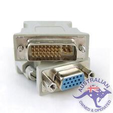 1 x DVI-I Male To VGA Female ( Digital + Analog ) Socket Converter (004)