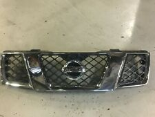 Nissan Frontier Chrome Grille w/ Emblem (Fits 2005-2008 Frontier / Xterra)