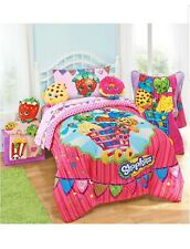 Shopkins 5pc Twin Sheet Set & Comforter Bedding Collection Set