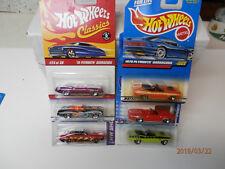 hot wheels plymouth cuda convertibles set of 6