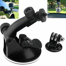 1pc Black Suction Cup Mount Holder Tripod Camera Parts For Gopro Hero 4/3/HD