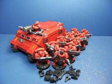 Rhino + 10 táctico de los marines Blood Angels