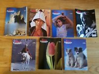 Leica Fotografie Magazine 1989 Issues Lot English Ed camera photography