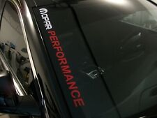 MOPAR PERFORMANCE  Windshield Decal Dodge Charger Challenger R/T SRT RAM 1500