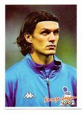 sticker football PAOLO MALDINI Italy FIFA World Cup Korea Japan 2002 Yugoslavia