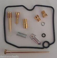 Carburetor Carb Rebuild Kit Repair For 1999-2002 Kawasaki KVF 400 Prairie ATV
