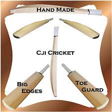 Custom Senior Plain Hand Made English Willow Cricket Bat Weight 2lb 8ozs