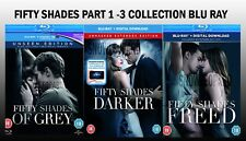 FIFTY SHADES OF GREY DARKR FREED TRILOGY MOVIE FILM 50 GRAY EXTEND UNSEEN BLURAY