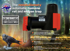 Rat Trap Mouse Trap Revolutionary Automatic resets Multi Kill Tech Waterproof AU
