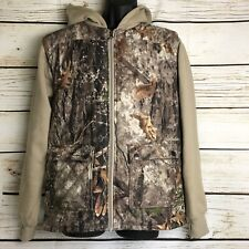 Cabelas Youth Boys Girls Camo Hunting Hoodie Vest 2XL 20 Mens Small Jacket