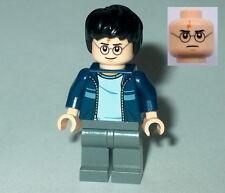 HARRY POTTER #20 Lego Harry Dark Blue Open Jacket w/Stripe NEW Genuine Lego 4841