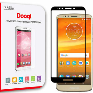2X For Motorola E5/ G6 Play/ G6 Forge Full Cover Tempered Glass Screen Protector