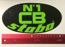 Aufkleber/Sticker: Nr.1 CB Stabo (270316142)